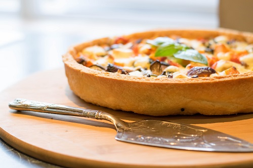 Quiche dish from Gloucestershire Catering Company